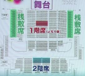 歌舞伎・座席